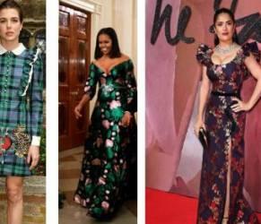 Charlotte Casiraghi, Michelle Obama, Salma Hayek: dive in Gucci