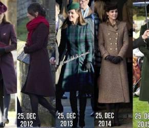 Kate Middleton, tutti i look di Natale: quale preferisci? FOTO