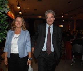 Paolo Gentiloni, chi è la moglie Emanuela Mauro FOTO