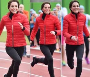 Kate Middleton look sportivo: bella ma... magrissima FOTO