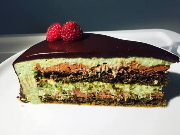Matcha Truffle Cake... Ovvero la Torta Elisir di Lunga Vita...