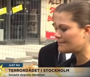 Victoria di Svezia a Stoccolma: il gesto che stringe il cuore2