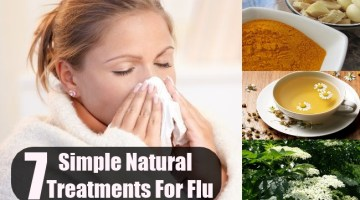 7 Simple Natural Treatments For Flu