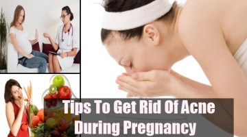 Get Rid Of Acne During Pregnancy