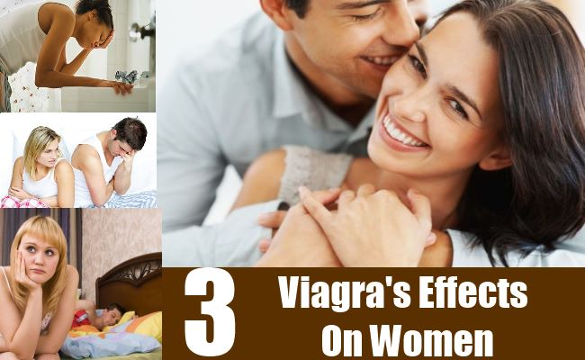 Effect of viagra on women