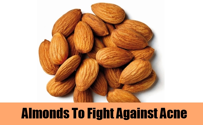 Almonds To Fight Against Acne