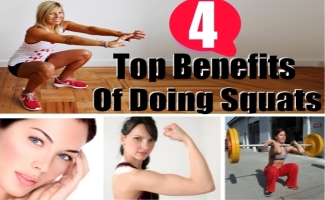 4 Benefits Of Doing Squats