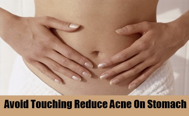 how to get rid of petechiae on stomach
