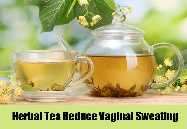 Herbal Tea Reduce Vaginal Sweating