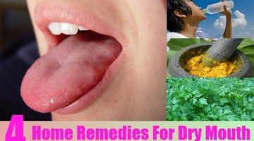 Home Remedies For Dry Mouth