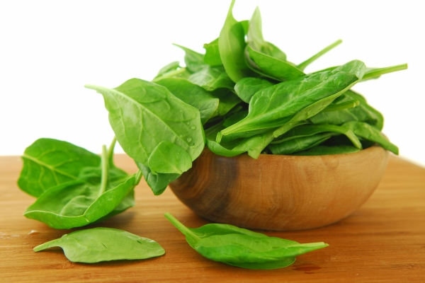 Take Leafy Green Vegetables and Folic Acid Supplements