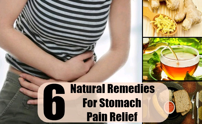 how to get relief from stomach pain