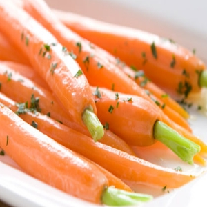 Grated Carrots With Honey