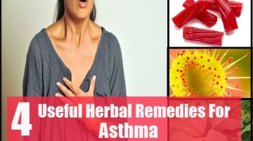 Highly Useful Herbal Remedies For Asthma
