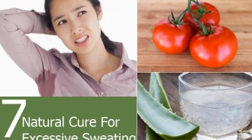 Natural Cure For Excessive Sweating