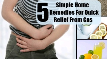 Remedies For Quick Relief From Gas