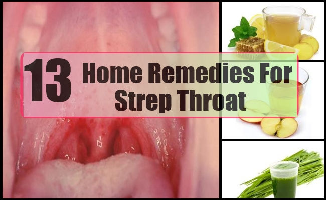 13 effective home remedies for strep throat