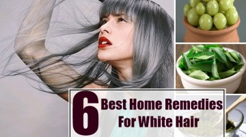 Home Remedies For White Hair