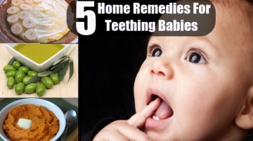 5 Home Remedies For Teething Babies