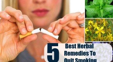 Herbal Remedies To Quit Smoking