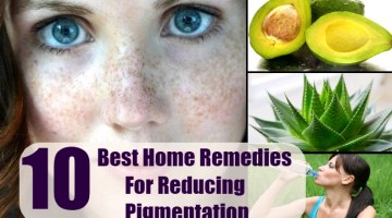 Home Remedies For Reducing Pigmentation