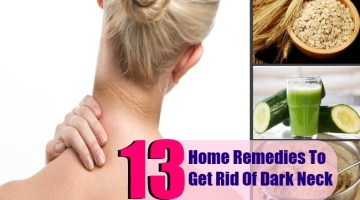 13 Home Remedies To Get Rid Of Dark Neck