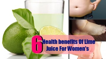 6 Best Health benefits Of Lime Juice For Women's