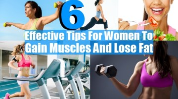 Gain Muscles And Lose Fat