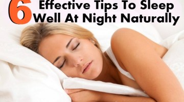 6 Effective Tips To Sleep Well At Night Naturally