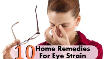 10 Amazingly Effective Home Remedies For Eye Strain