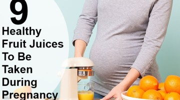 9 Top Healthy Fruit Juices To Be Taken During Pregnancy