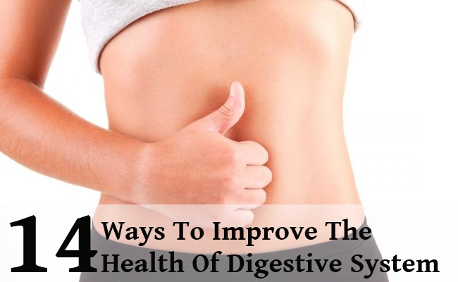 how to take care of your digestive syste