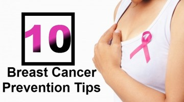 Top 10 Breast Cancer Prevention Tips