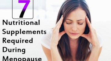 Top 7 Nutritional Supplements Required During Menopause