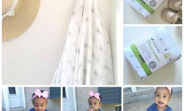 Muslin Swaddle Blanket Review With The Little Lady