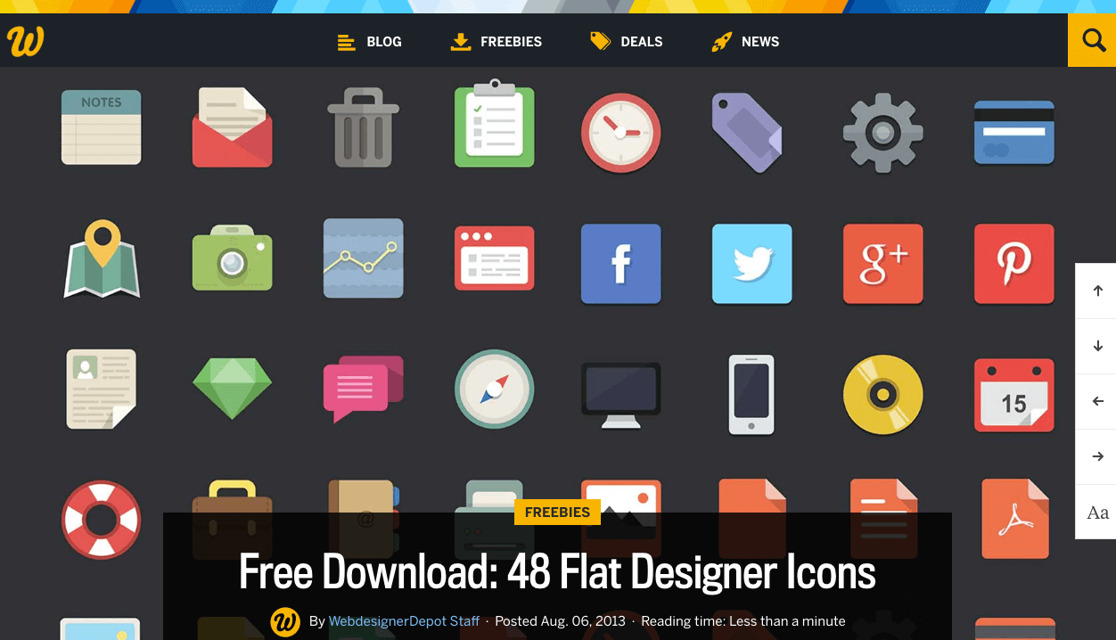 cv designer symbole gratuit