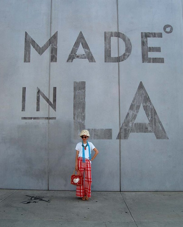 Made In LA, outfit, blogger, vintage style