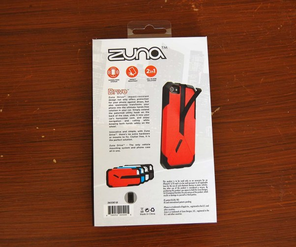 Hands-free driving with Zuna phone cases