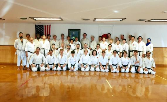 JKA AF End of Year Training with Legend Mikami Sensei