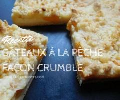 recette-gâteau-pêche-crumble