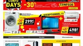 Code promo Conforama réduction soldes 2016