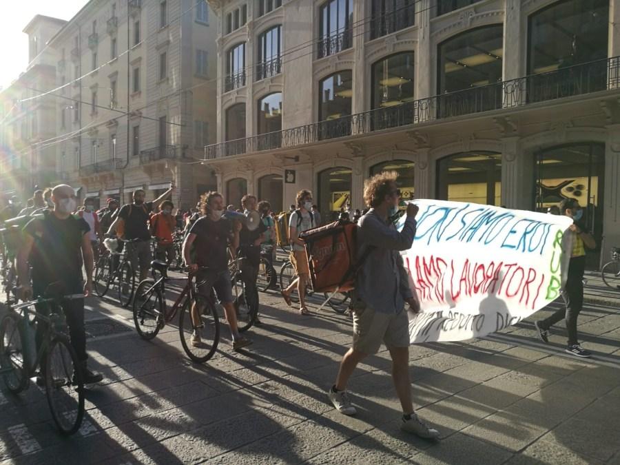 Foto protesta riders