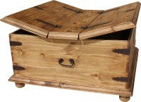 Rustic Pine Collection - Trunk Coffee Table - CEN09