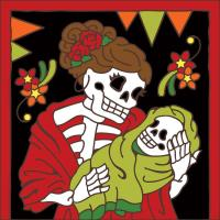 Decorative Tile Collection - Day of the DeadCeramic Tile ...