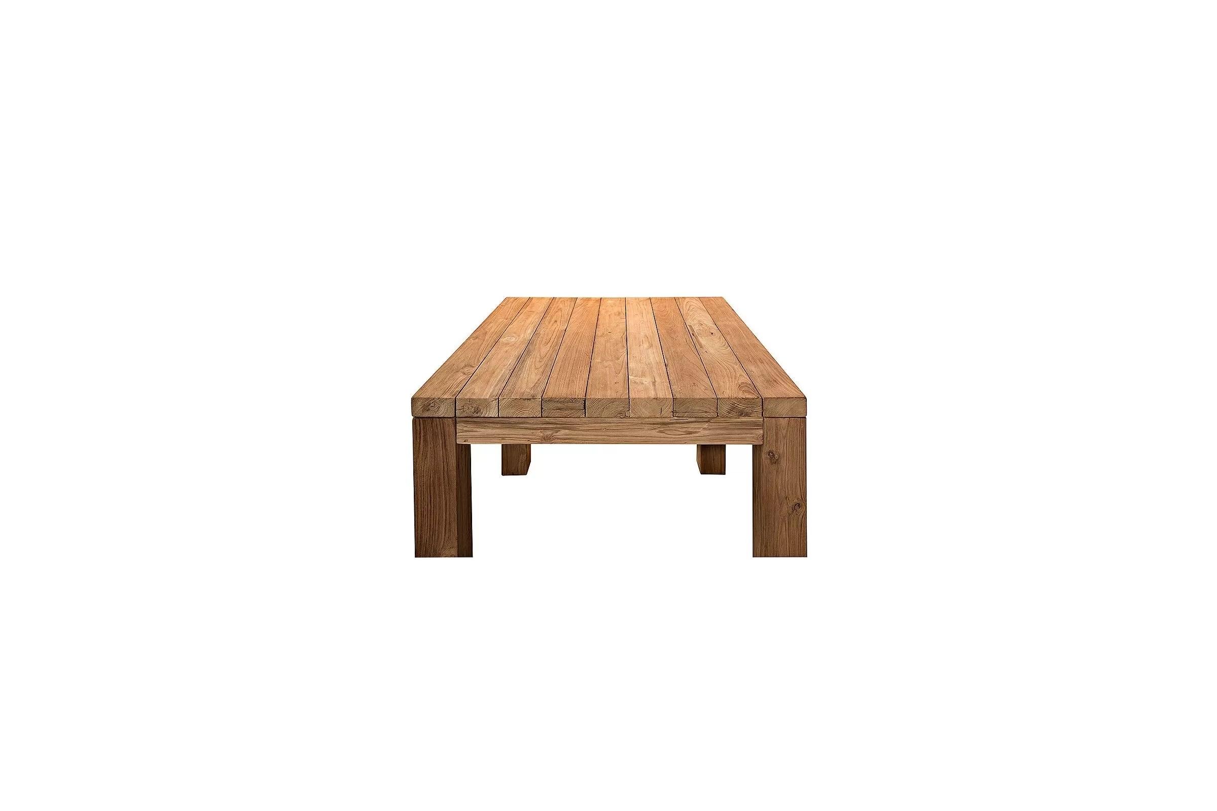 √ Comment Renover Une Table En Teck. Free Lubok Salon De