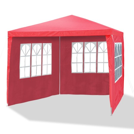 Gazebo With Zippered Sides