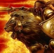 leone guerriero cieco