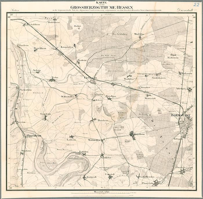 Historische Kartenwerke : Blttern : LAGIS Hessen