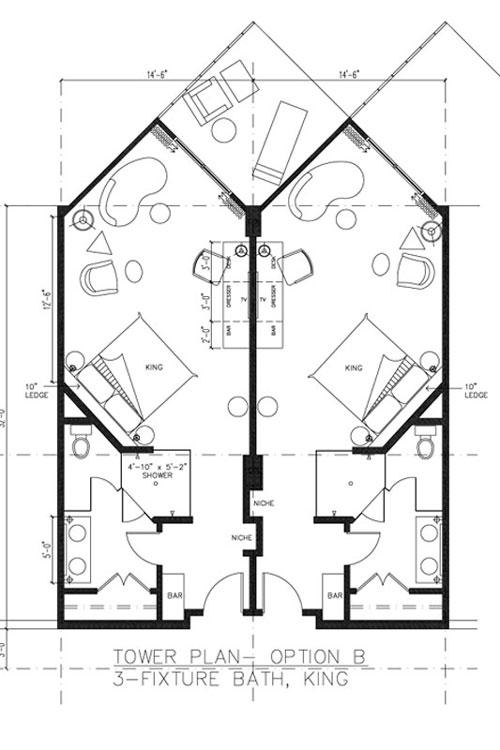Guestrooms Floorplan lodges Pinterest Hotel floor plan - new interior blueprint maker