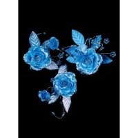 Blue Bridal Hair Clip